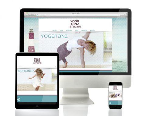 Webseite Responsive | Yoga Tanz Atelier