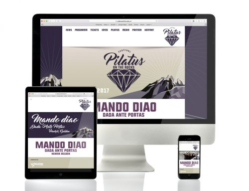 Webseite Responsive | Pilatus On The Rocks